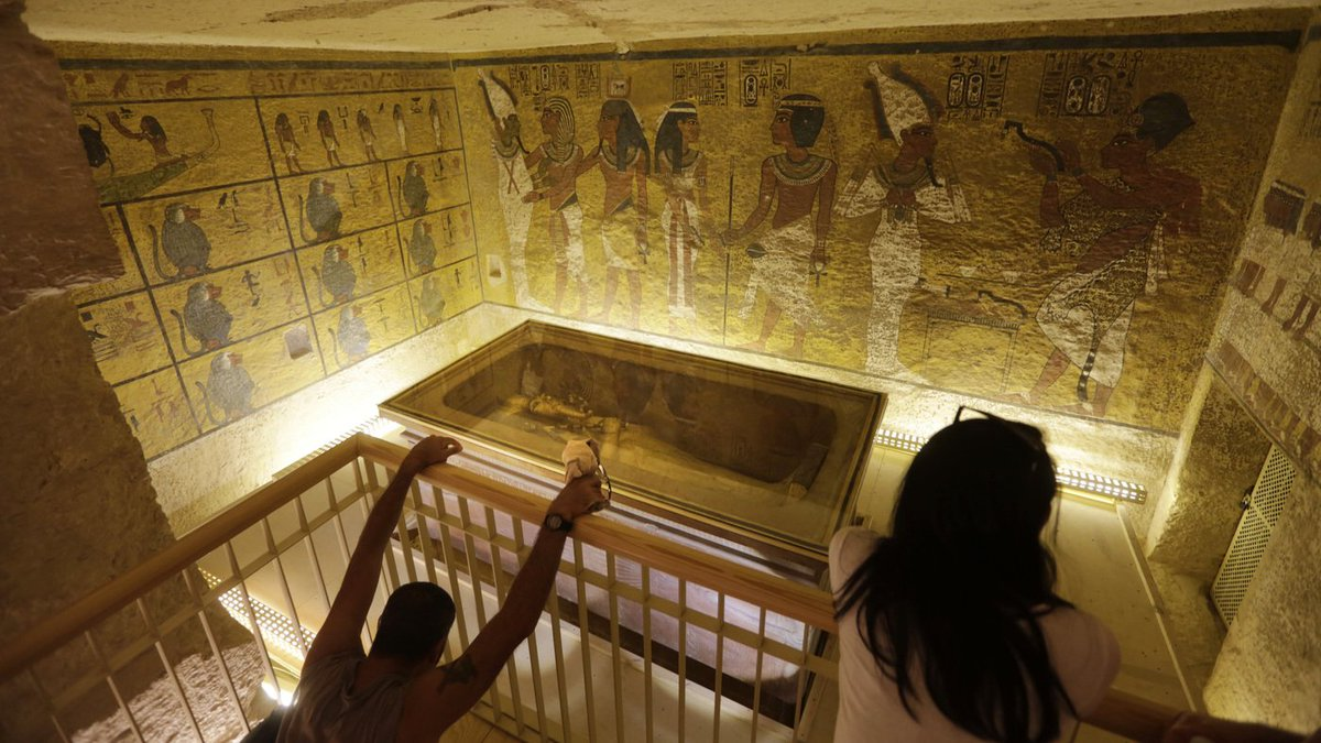 King Tut's Tomb May Have Hidden Spaces Containing Organic, Metallic Materials https://t.co/WjVS58W1D6 >@NPR https://t.co/krzEHNXuGQ