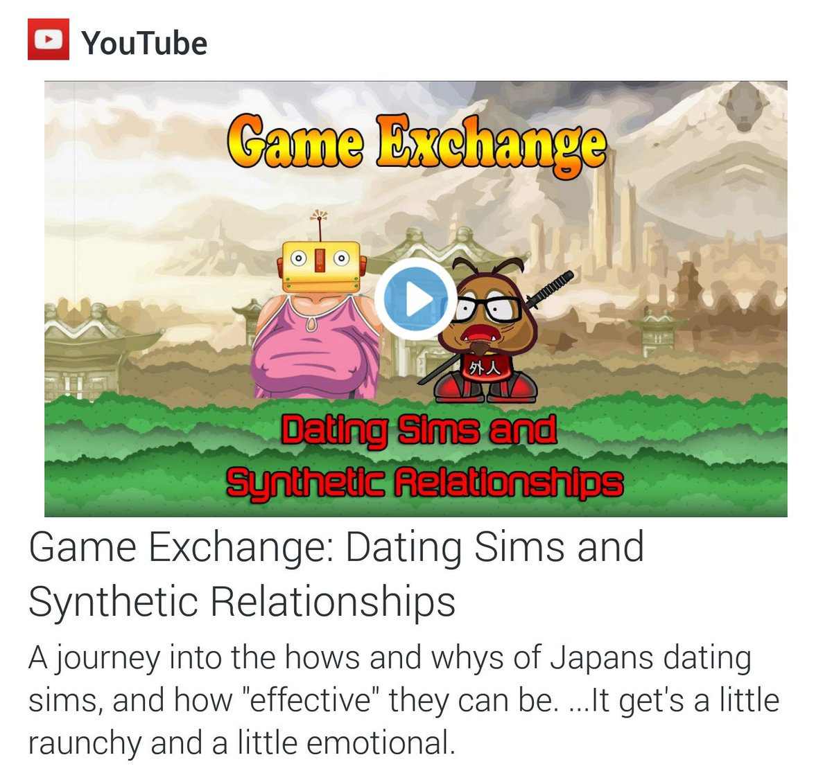 japanska dating Sims