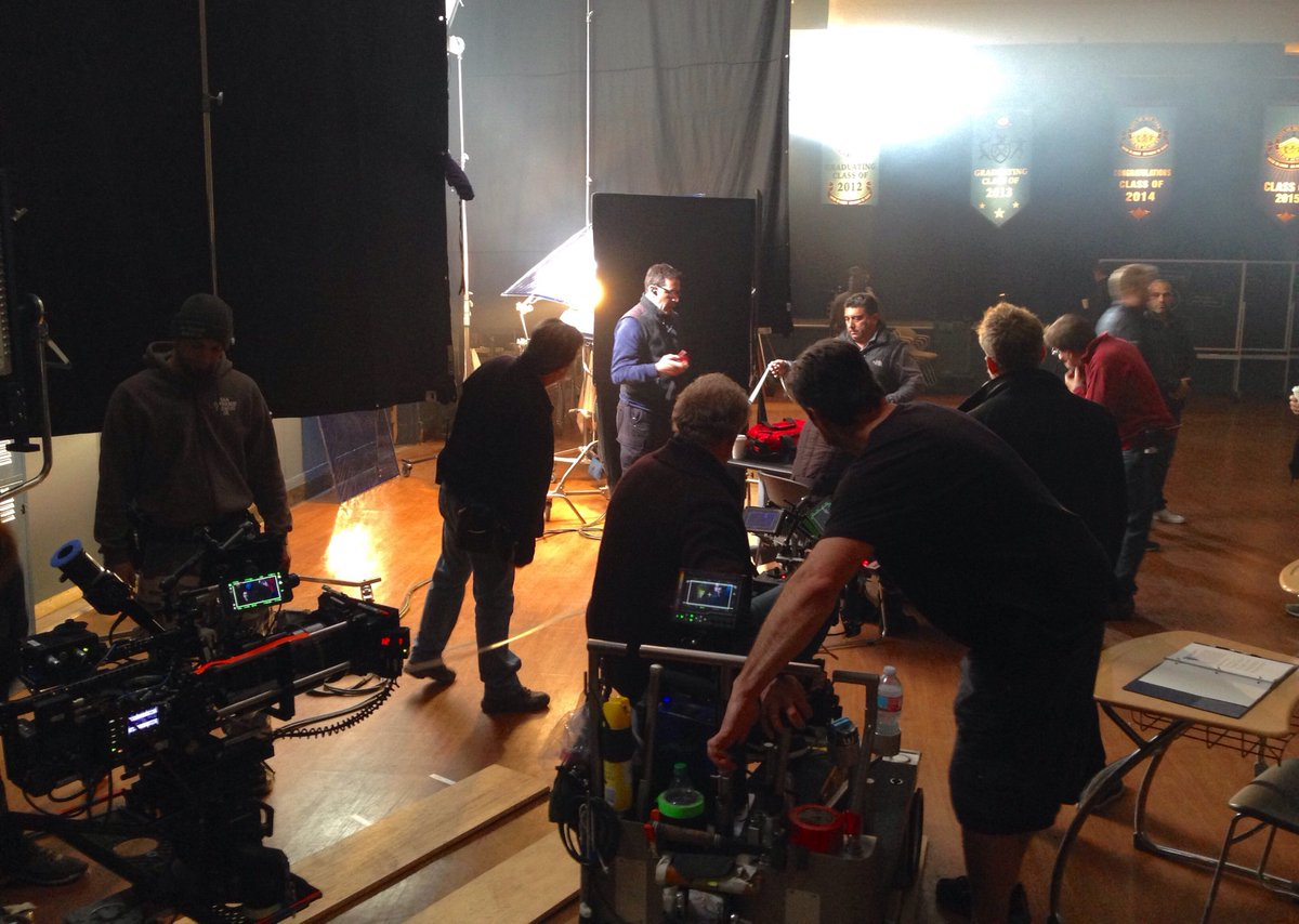 """8x15 """"FIDELIS AD MORTEM"""" post ep bts pics and tweets CeK6A_OUUAEh7to"""