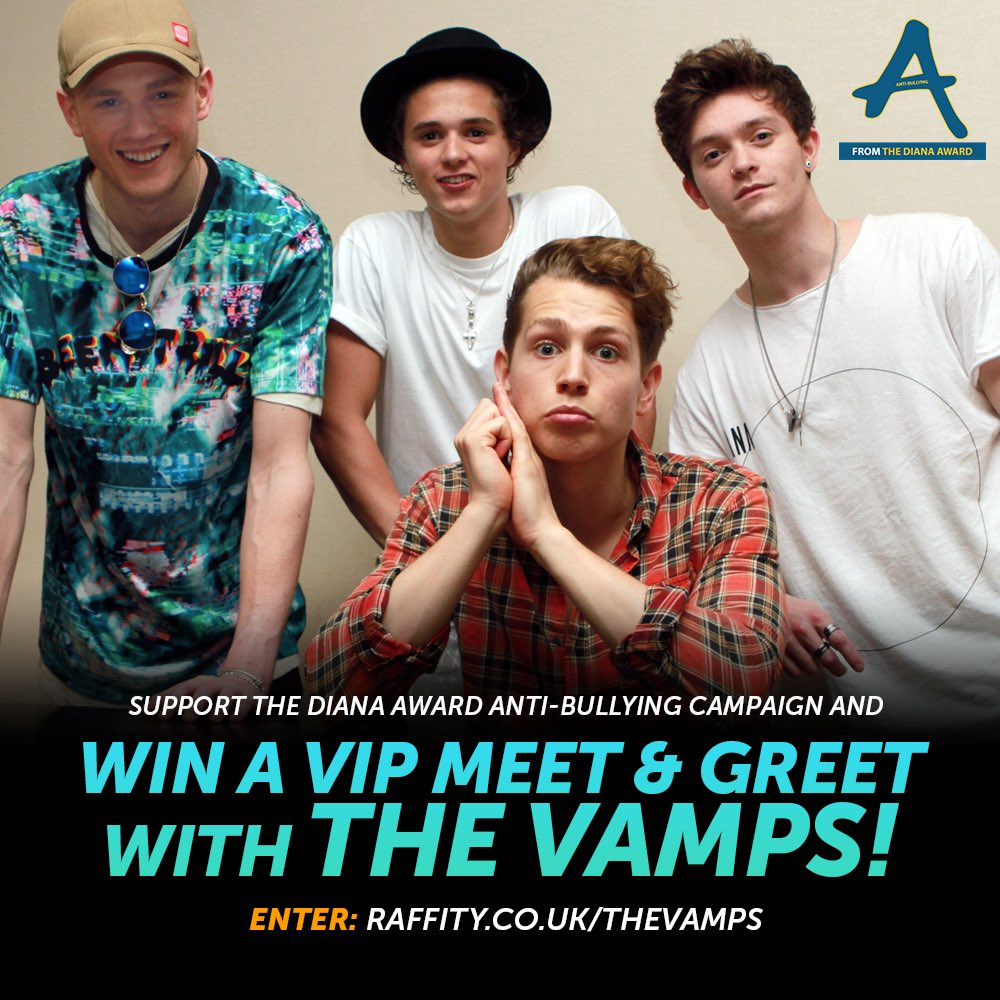 The Vamps On Twitter Get Involved To Win A Vip Meet And Greet