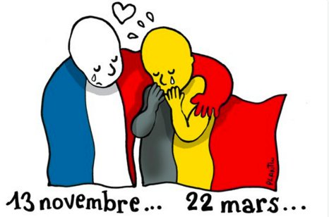 RT @EliteDaily: France shows solidarity with Belgium via this beautiful cartoon: https://t.co/cVPuW1jk8w