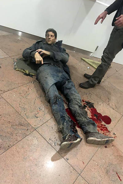 Brazilian basketball player naturalized Belgium Sebastian Bellin is one of the people injured at #BrusselsBlasts https://t.co/zp9kl5Lrqq