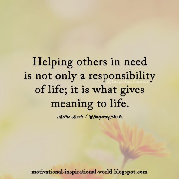 "Quotes About Helping Others: Roy T. Bennett On Twitter: ""Helping Others In Need Is Not"