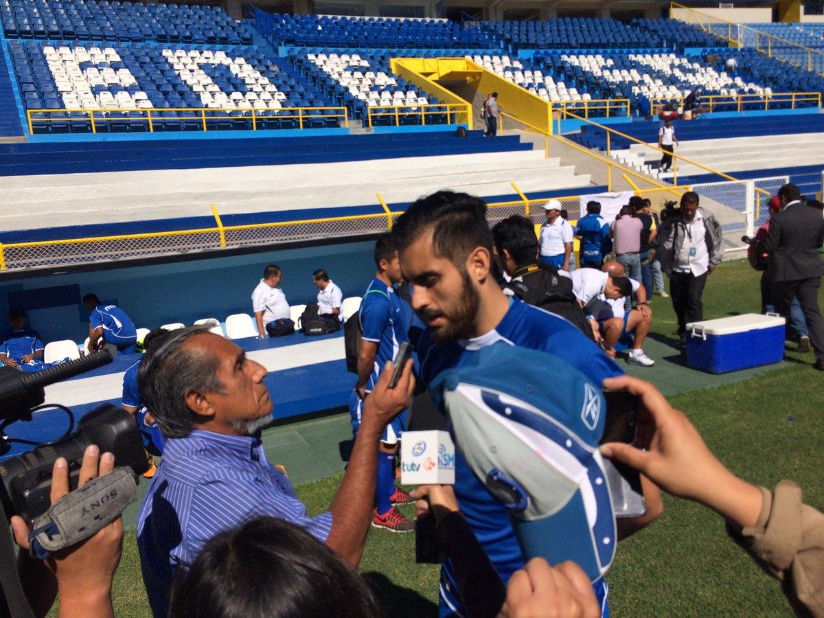 Rusia 2018: La seleccion se prerapara para el juego contra Honduras en San Salvador. CeKh619UAAAs6t5