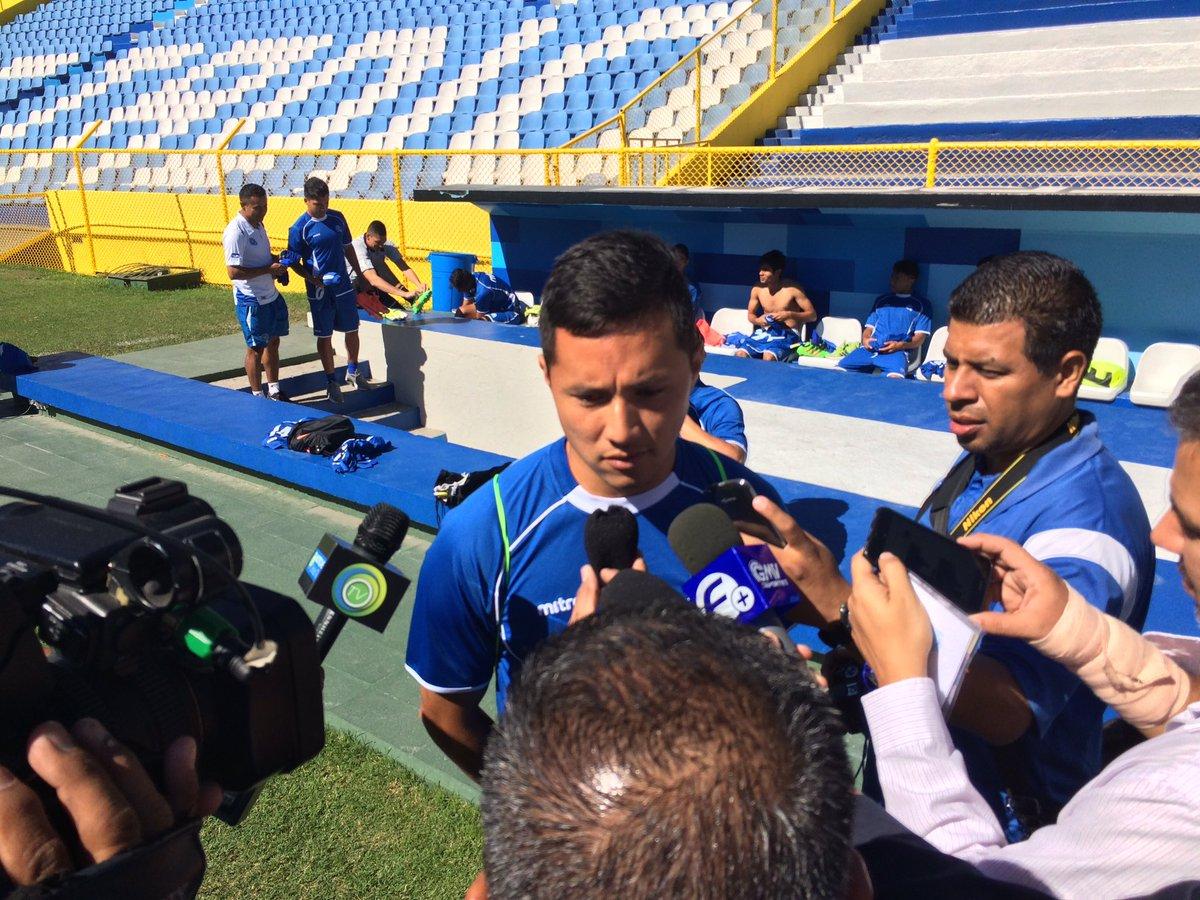 Rusia 2018: La seleccion se prerapara para el juego contra Honduras en San Salvador. CeKh6yTUsAEwNMi