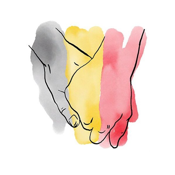 Our hearts and thoughts are with #Brussels