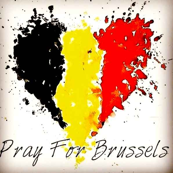 Our heart is with Brussels and our thoughts & prayers are with the families and friends who lost loved ones today. https://t.co/CkJKKo1ZCV