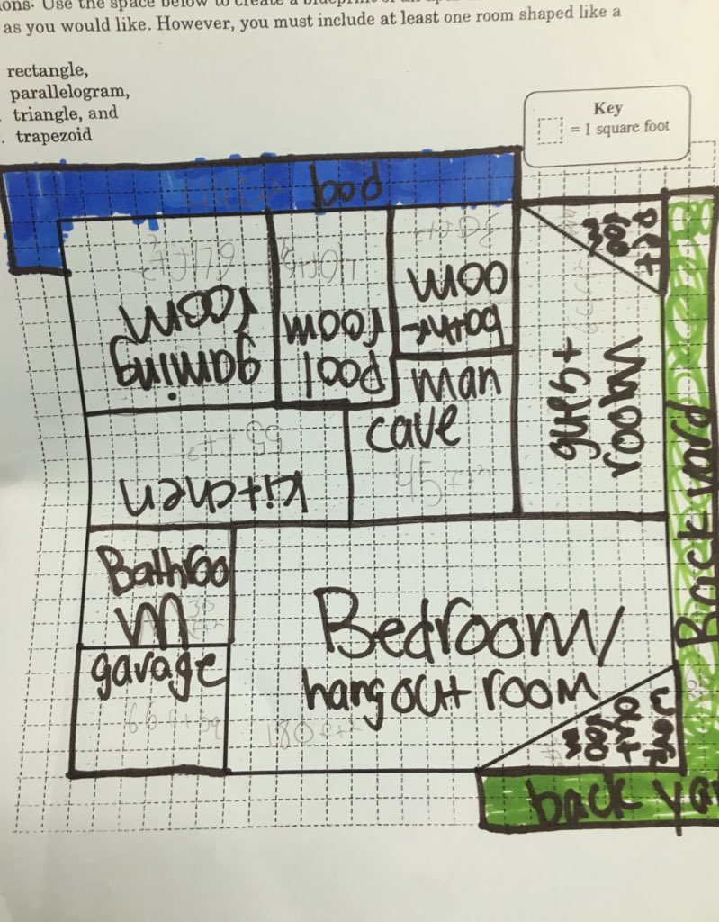 Miss monreal on twitter creating blueprint drafts using our on twitter creating blueprint drafts using our knowledge of polygons and measurement architects in the making d161learns httpst 987f0sitlw malvernweather Gallery