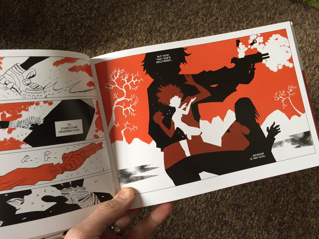 @polarcomic gets comics. Every page shows what comics can do that no other medium can pull off. @DarkHorseComics https://t.co/0bT4pWXk0F