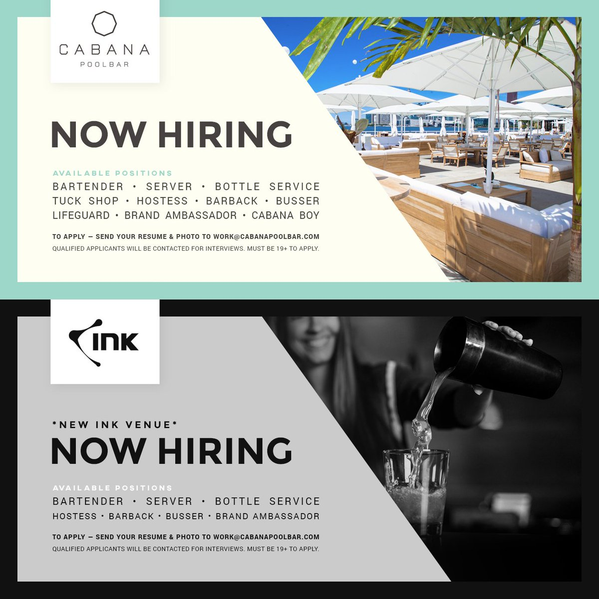Cabana Pool Bar On Twitter We Are Now Accepting Job Applications