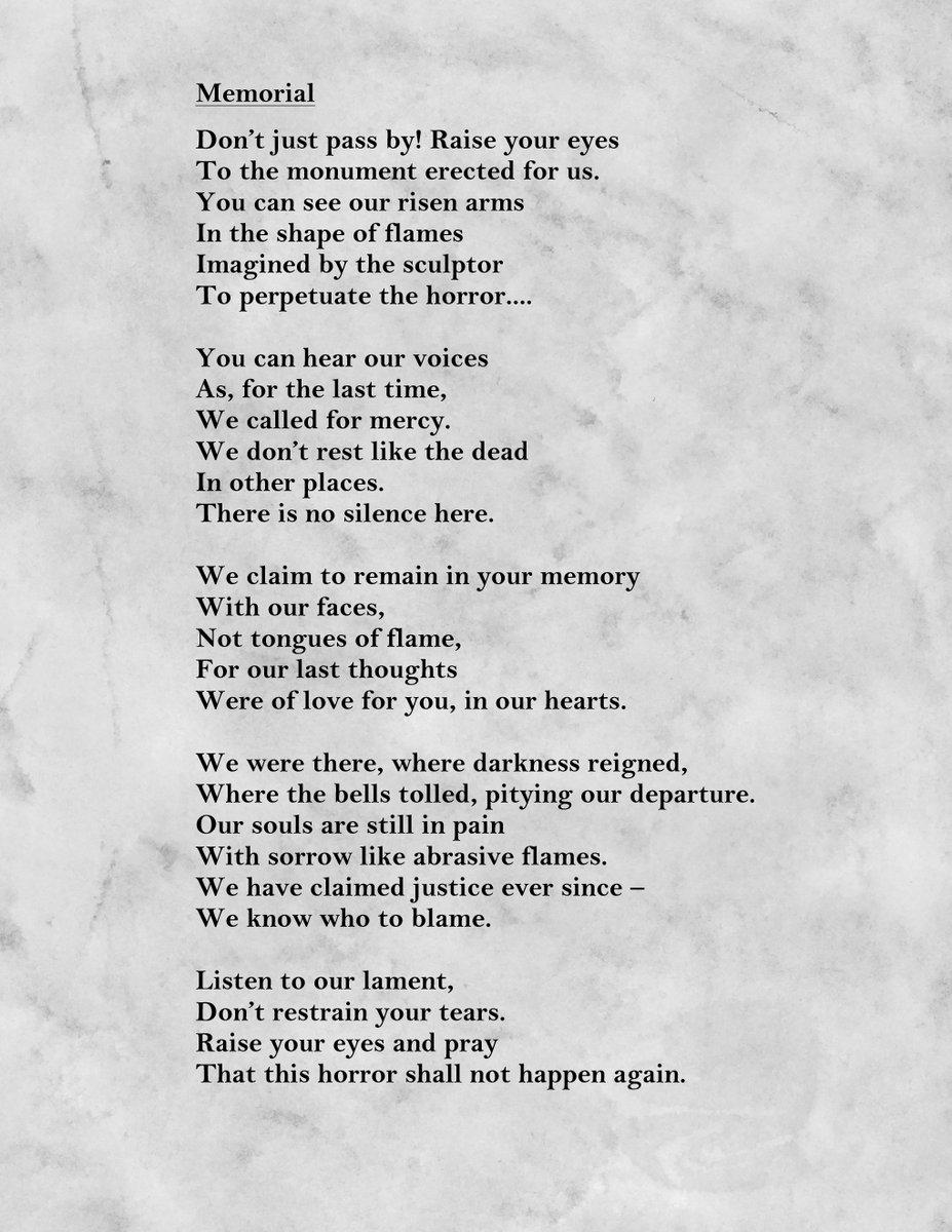 Holocaust Survivor Poems 3