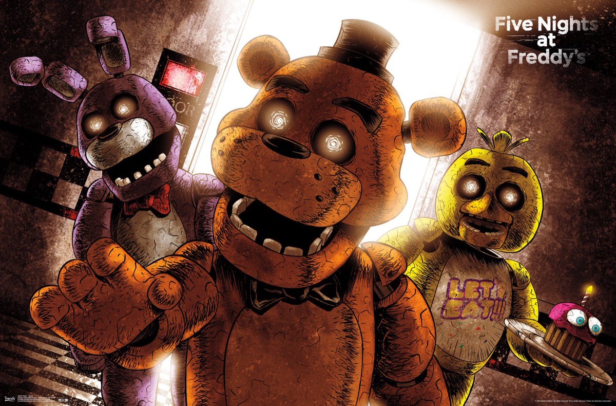 Trends international the people who are making the official fnaf