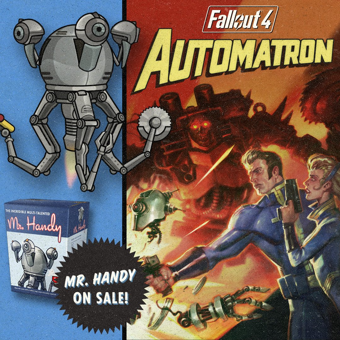 fallout how to use mr handy