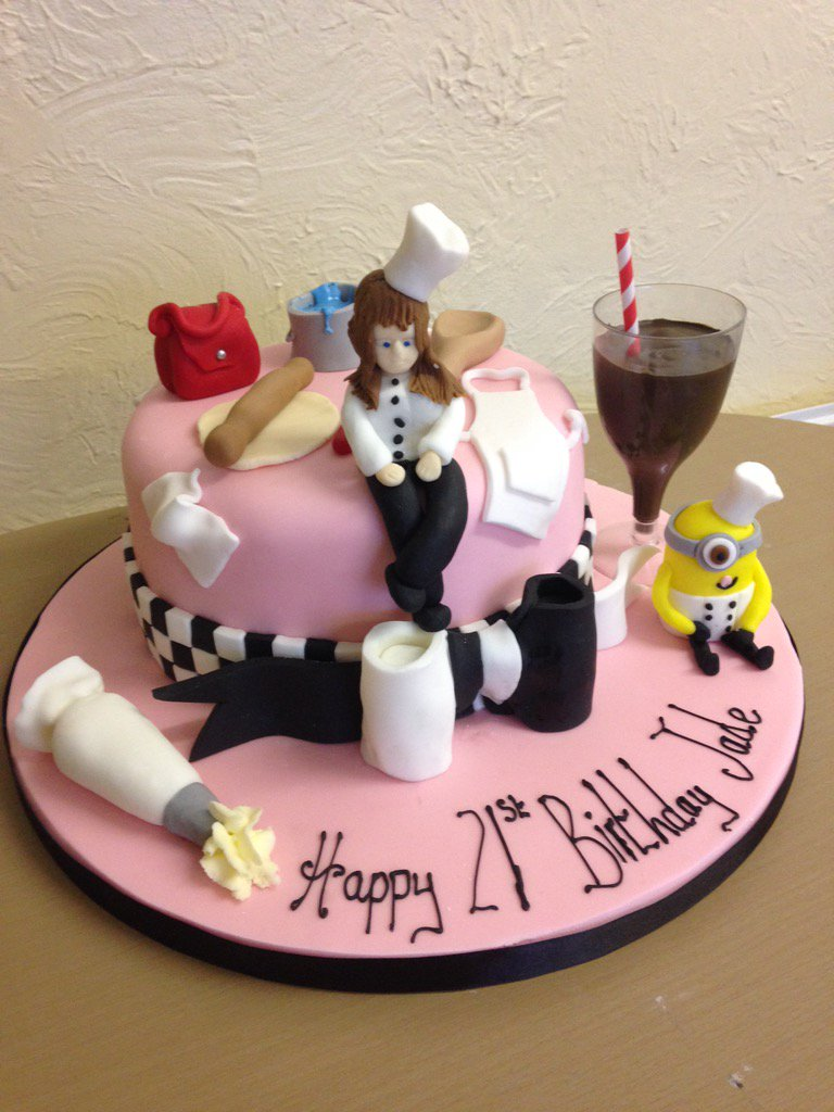 Kays Cakes On Twitter A Cake Fit For A Chef Cake Baking