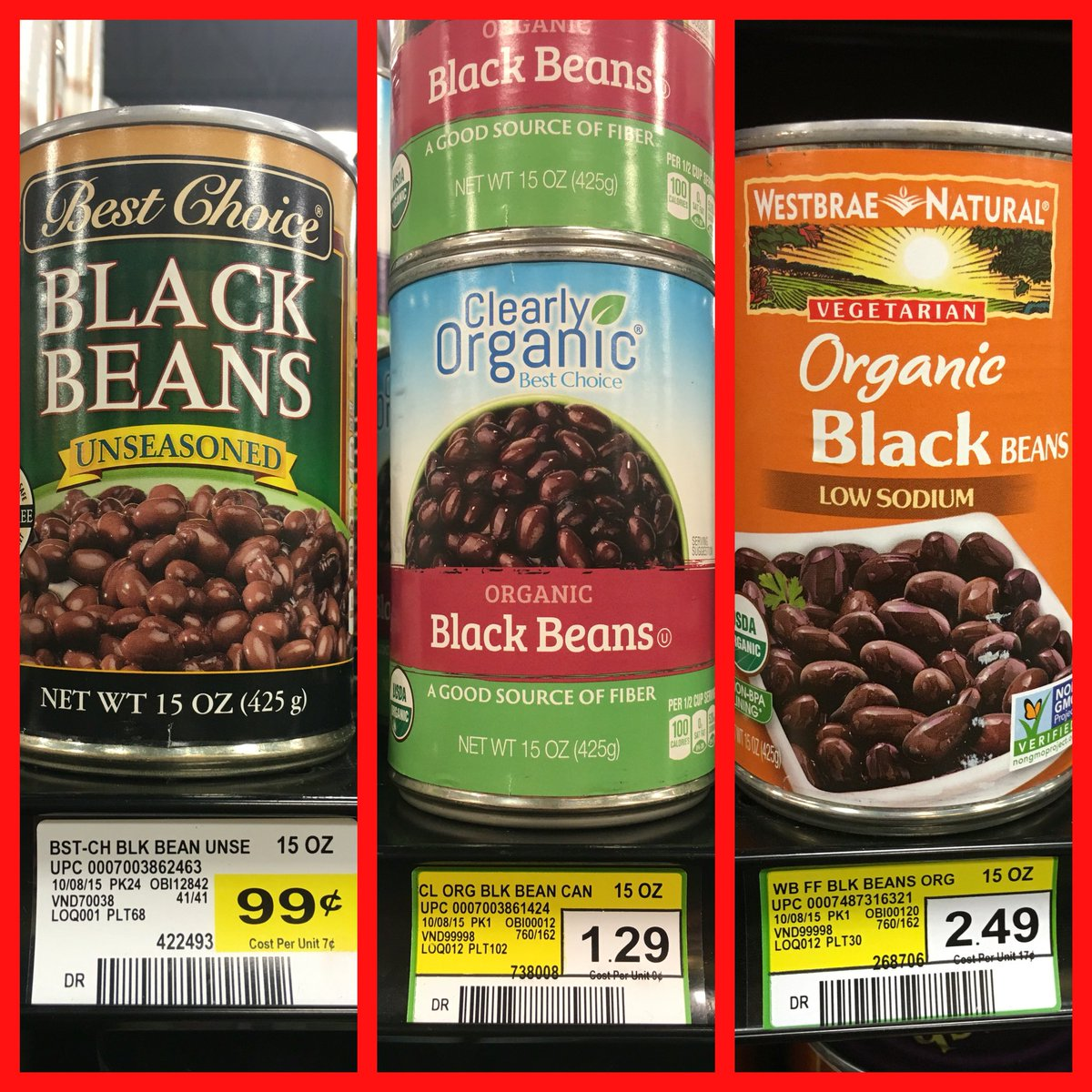 All of these beans are non-#GMO; notice the labels & associated premiums: https://t.co/EjSa05aL7U