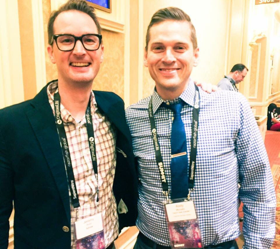 Two @westmontnews alums speaking today at a huge digital marketing conference. Love my school and friends. https://t.co/nF2nKdOrYU