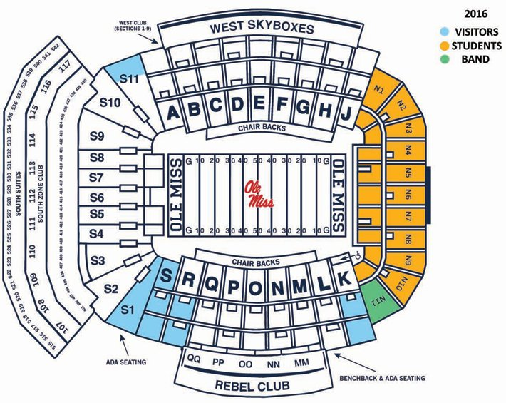 Brad logan on twitter here is the updated seating chart for vaught