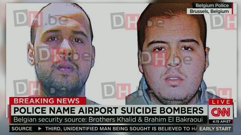 CNN airing images of El Bakraoui brothers obtained by Belgian newspaper DH https://t.co/z8dhd5vAbY