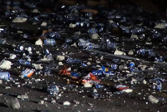 Trucks Carrying Chips And Beer Collide In Florida, Nation's Dads Experience Mixed Feelings