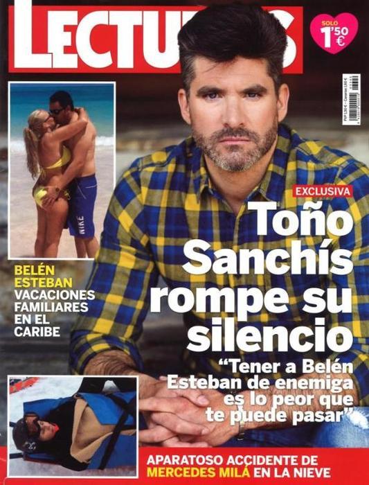 Lecturas -Toño Sanchís rompe el silencio - 1