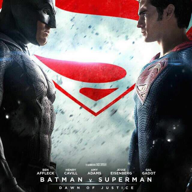 So much happening today! Batman v Superman movie screening tonight! Official release tomorrow! I cant wait! https://t.co/OfKgk8F2de
