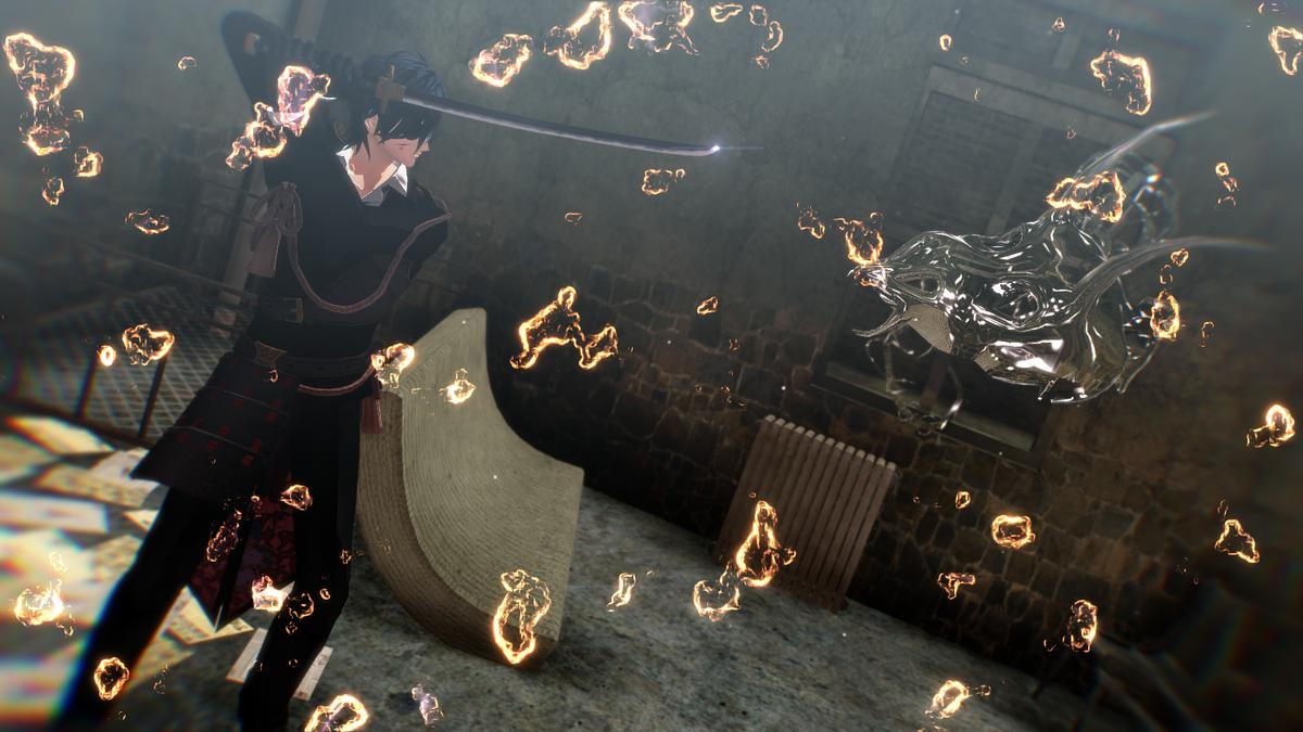 単独任務中  Model:Msk Somni Stage:糖斯 Effect:おたもん そぼろ 針金P 化身バレッタ カヤ 山田淀子 (敬称略)  #一日に一度Msk式燭台切光忠