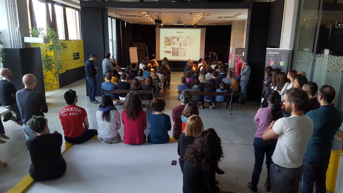 @Logotel in plenaria per condividere la #poetry della #designweek Aprile2016 weWillRockYou! @LogotelHorizon https://t.co/CIjrae2HQL