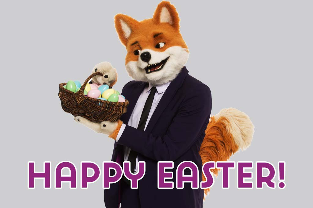 Have a #HappyEaster from everyone here at Foxy HQ! https://t.co/3XmQTLE8RW