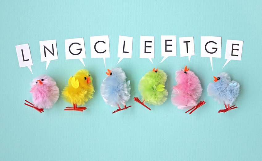 What on earth are our chicks trying to say? Follow us, retweet & unscramble the words to win a £50 Voucher! https://t.co/0AMFKtcbBI