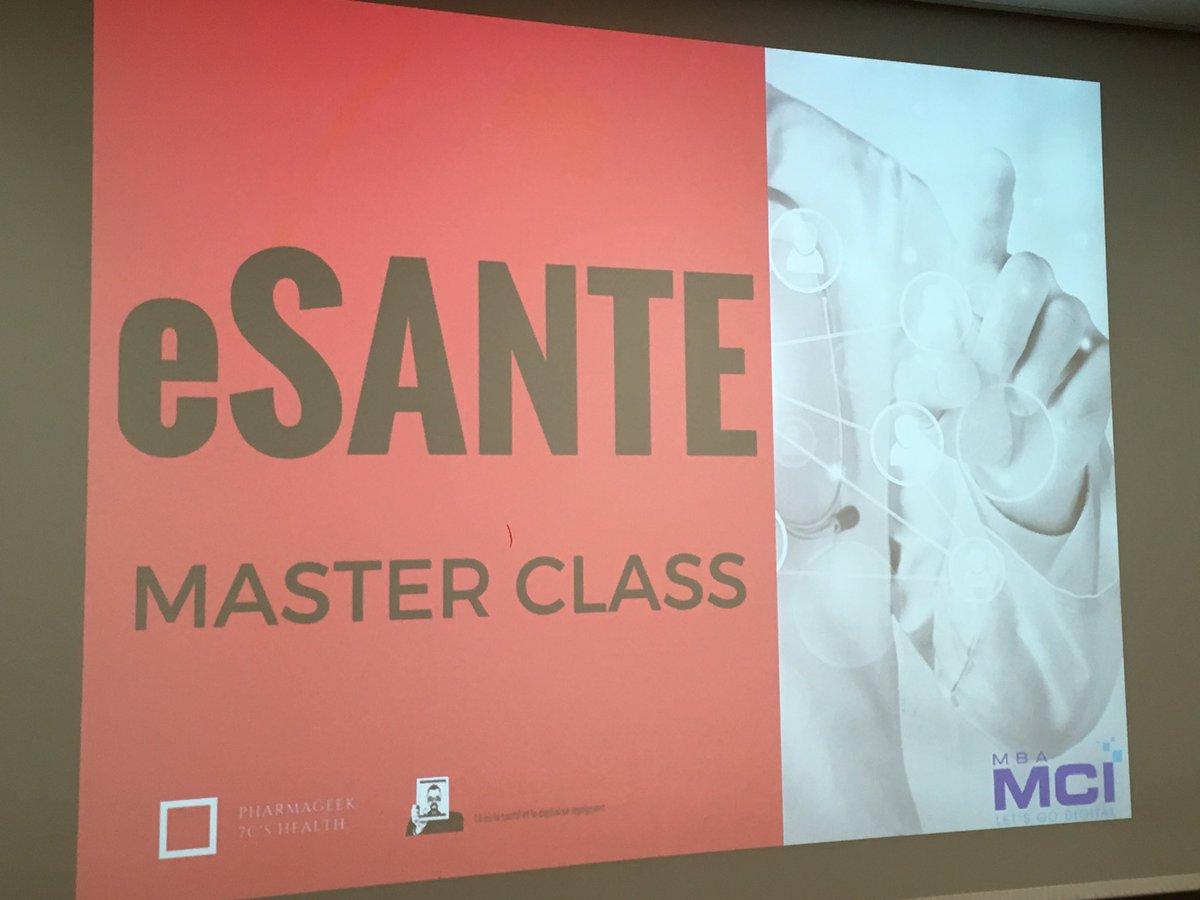 Thumbnail for MASTER CLASS E SANTE - #MBAMCI