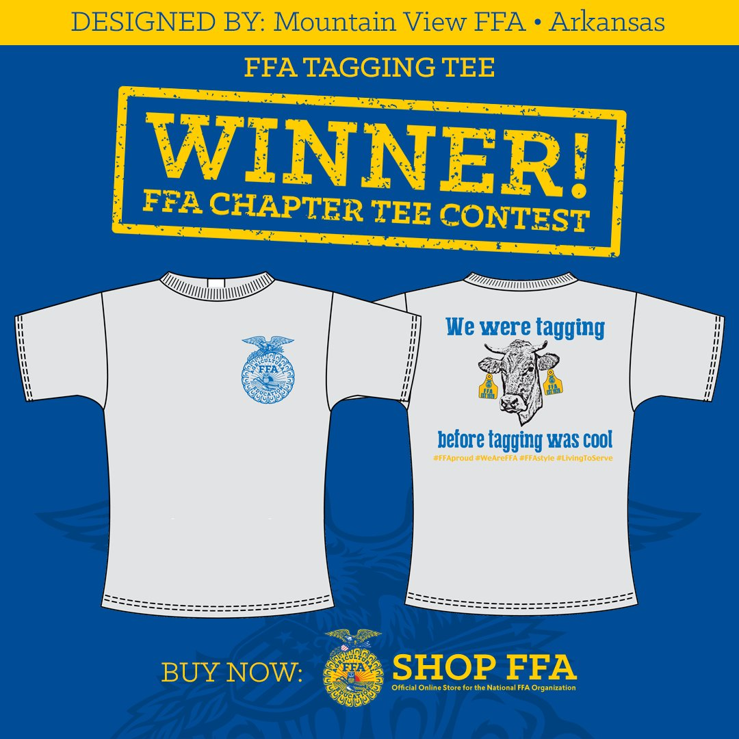Ffa T Shirt Design | National Ffa On Twitter Awesome Winning Shirt Design By