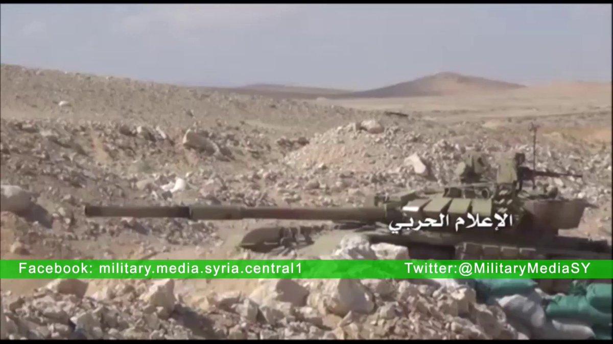 الجيش السوري يبدأ رسميا باستخدام دبابات T-72B  CePN7pCWIAAx_Qw