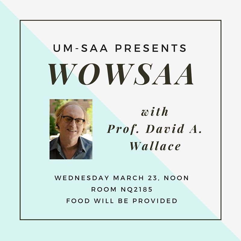 Join us today for our #WOWSAA w/David Wallace at 12pm ET! https://t.co/Fc0riTBABM