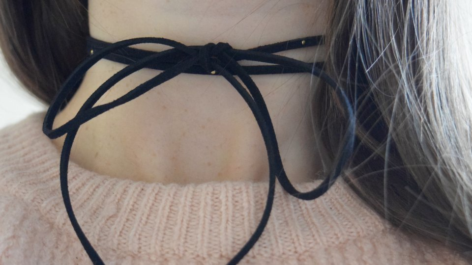 Chokers are making a comeback, and this one is under $10! #SCORE https://t.co/F6zORX54H2
