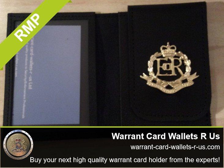 Warrant Card Holder Wallet Enforcement Agent Identity