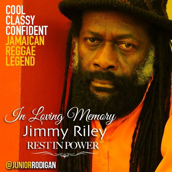 REST IN PARADISE #Reggae Legend #JimmyRiley. THANK U FOR THE MUSIC. Deepest condolences to @tarrusrileyja & family https://t.co/7ccf08ALea