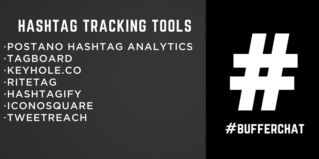 Seven (mostly free) tools for hashtag tracking and analytics across social media. #bufferchat https://t.co/5PhbLHvYdH