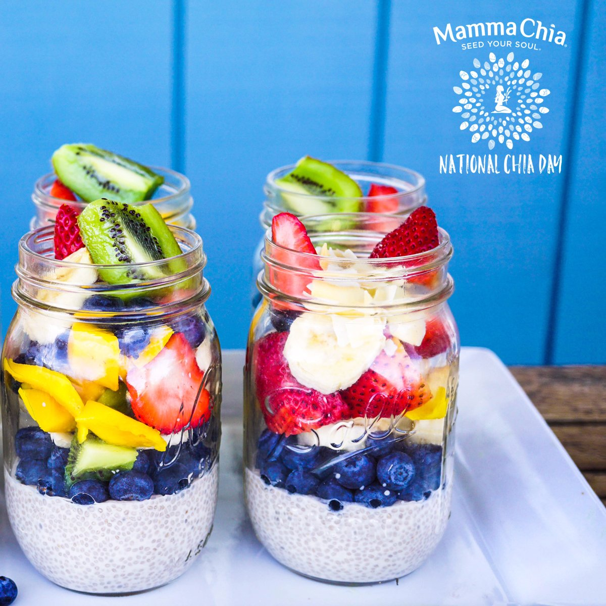 #NationalChiaDay #Giveaway!! RT for a chance to win $50 supply of @MammaChia! Photo by @EarthyAndie https://t.co/rnsOf84rJH