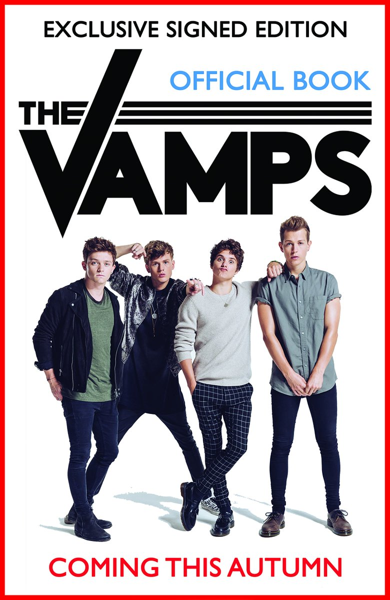 British pop rock group @TheVampsband is releasing an autobiography this autumn: https://t.co/dQAUYbBC3J