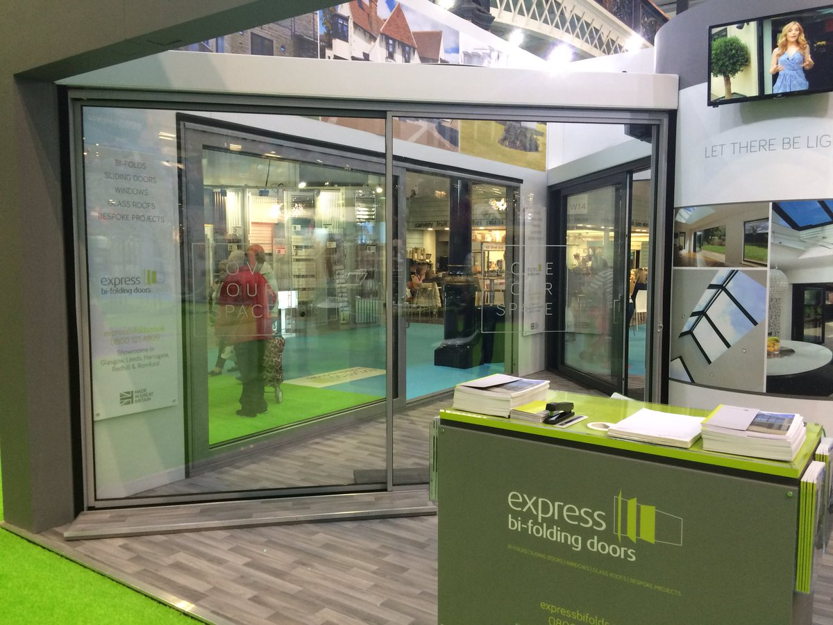 Express Bi-folds on Twitter  Our new panoramic sliding door on display for the first time at the @ideal_home_show #London //t.co/Z36HItabnU ... & Express Bi-folds on Twitter: