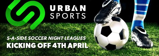 5-a-side Soccer Night Leagues, coming 4th April. Enquire now. http://www.urbansports.joburg/#contact #ForTheUrbanAthlete