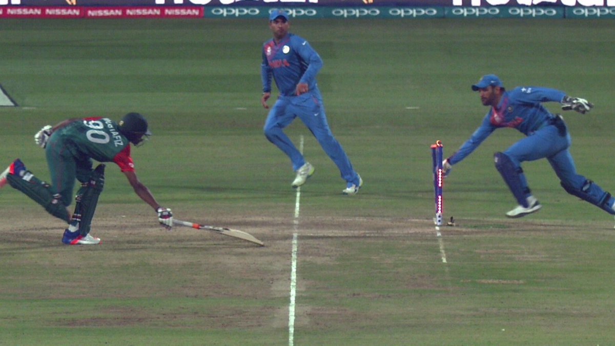 This was the moment that won it for India!   LIVE: https://t.co/MWmOXskf3t   #INDvBAN #WT20