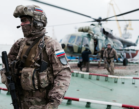 Elite Russian special forces who took Crimea are doing the ...