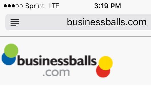 businessballs hashtag on Twitter