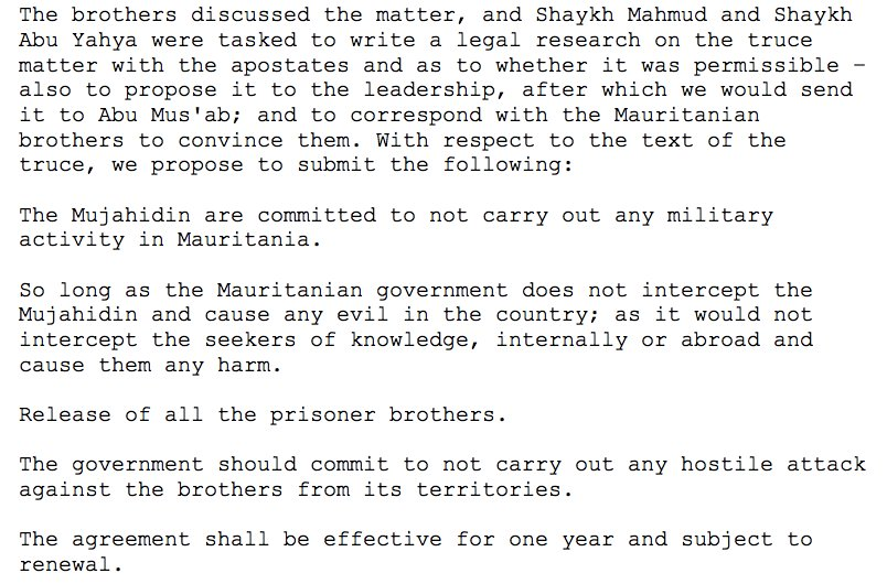 Daveed Gartenstein Ross On Twitter Wow Abu Hafs Al Mauritani