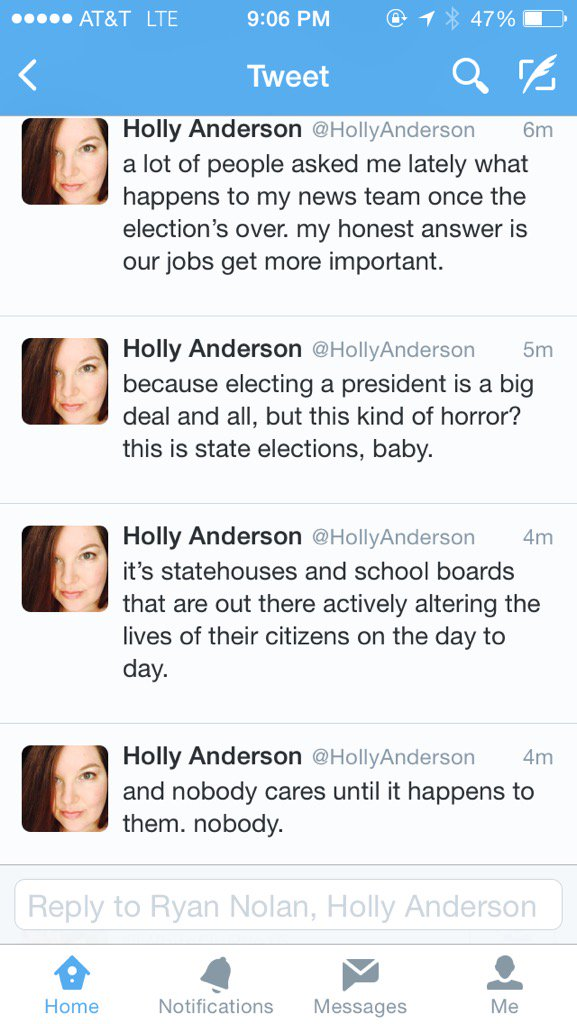 Preach @HollyAnderson https://t.co/1hxG7ERRwF