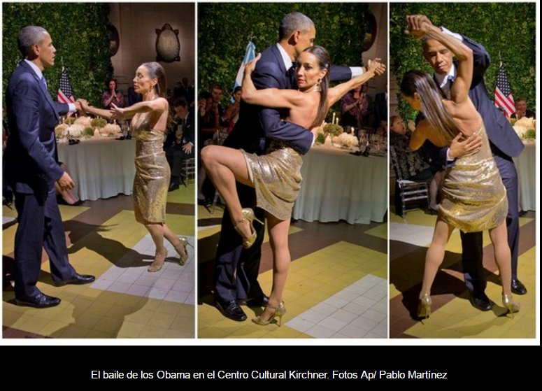 Un tango a Buenos Aires con Obama - Guarda il Filmato Video YouTube