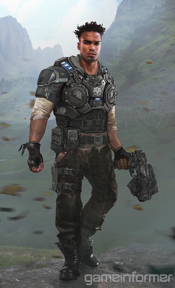 gears of war on twitter giveaway win a poster of del from gears