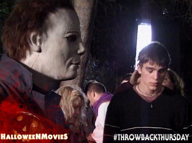 halloweenmovies on twitter halloween h20 behind the scenes w josh hartnett michaelmyers throwbackthursday tbt httpstcom1uzaj5x4a - Josh Hartnett Halloween