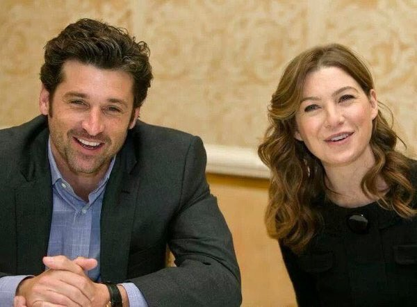 Greys Anatomy On Twitter Patrick Dempsey And His Wife Ellen